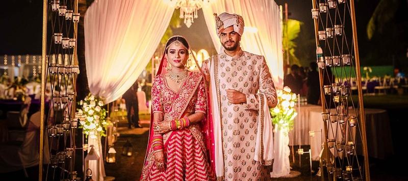 Aruj & Anika Goa : Offbeat Zuri White Sands, Goa Destination Wedding