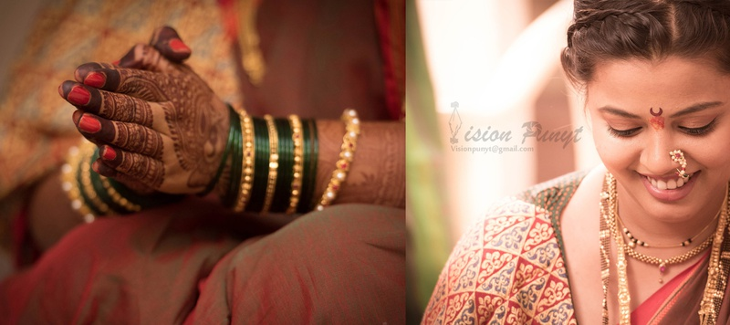 Vaibhav & Sheetal Mumbai : An Intimate Maharashtrian Wedding Ceremony