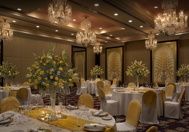 The Leela Palace Chandpole Udaipur - Banquet Hall