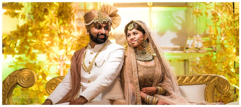Anuvrat & Sulbha Bhopal : This bubbly bride in blush lehenga and minimal makeup looked like a dream on her wedding day!