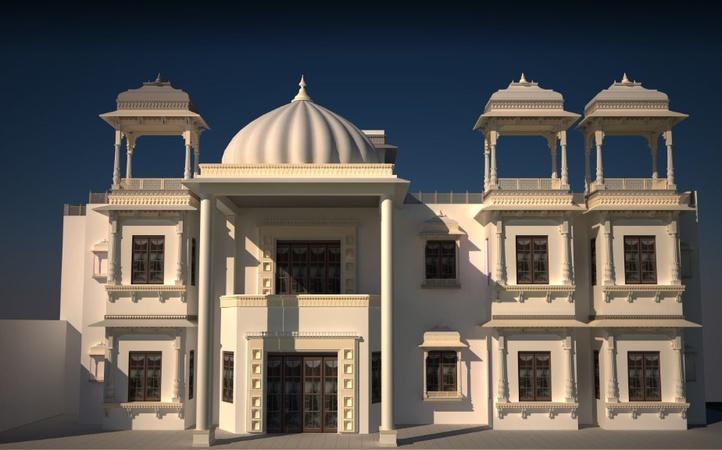 Hamer Kothi Badi Lake Road Udaipur - Banquet Hall