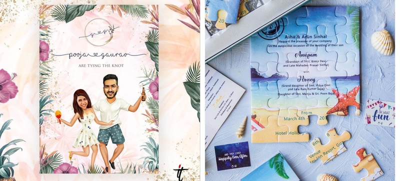 9 Creative Wedding Invite Ideas