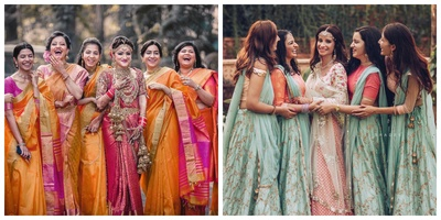 30+ Bridesmaid Dresses to give all you Indian Bridesmaids out there tons of inspiration for the upcoming Wedding Season!