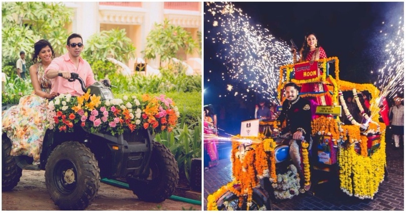 10 Unconventional Couple Entry Ideas To Rock At Your Indian Wedding!
