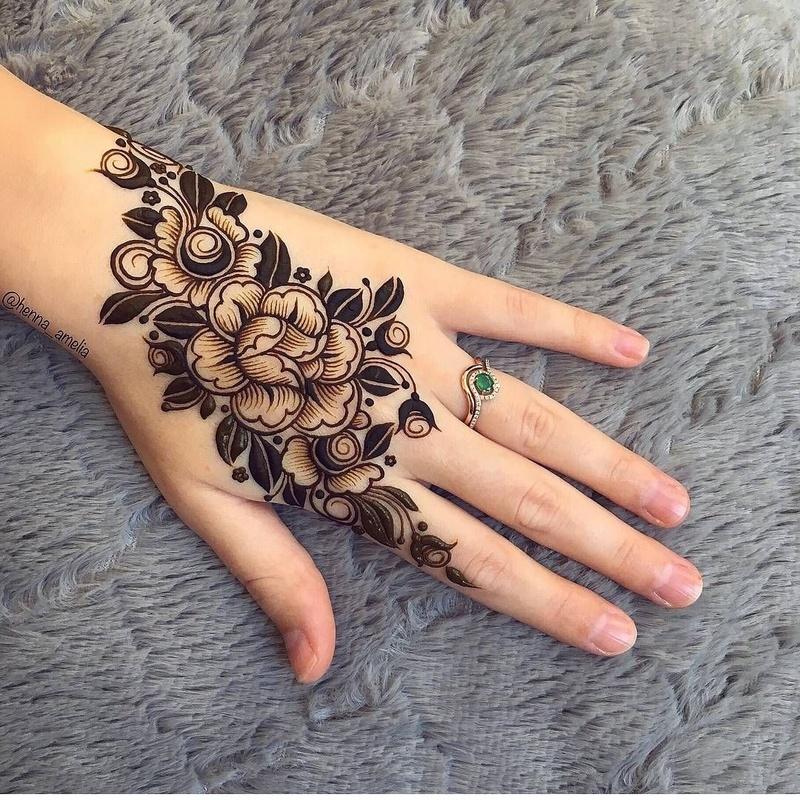 15 Trending Arabic Mehndi Designs Saudi Arabia Mehndi