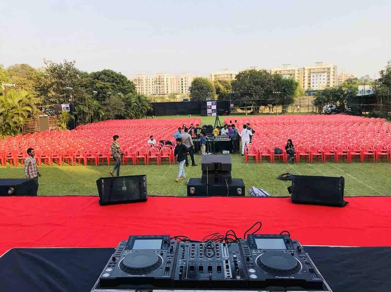 Nisarga garden lawn and banquet thane west mumbai banquet hall wedding lawn for A b lawn and garden