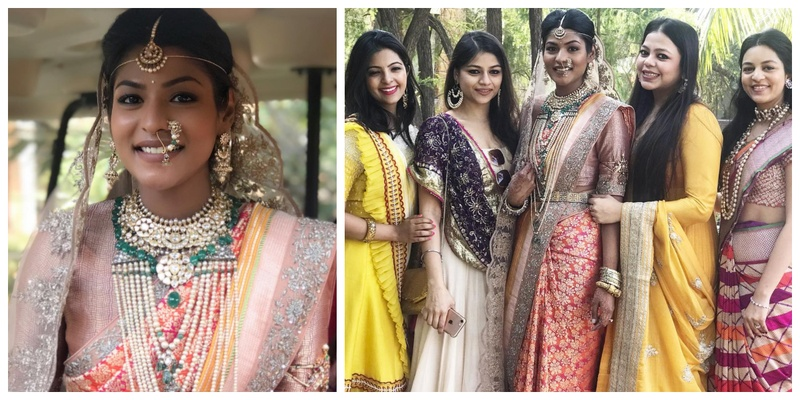 Ace designer Jayanti Reddy tied the knot in Hyderabad and we are obviously loving her bridal look!
