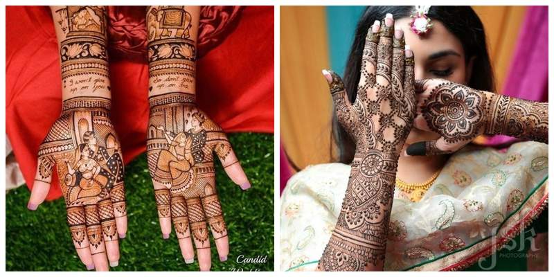 100+ mehandi design images to pin if you're attending a wedding or getting married in 2019!