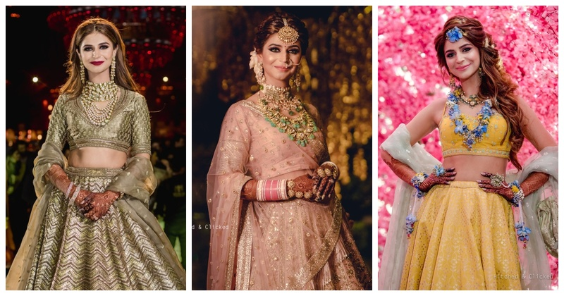 Decorator Tanvi Puri Flaunted the Most Stunning Outfits at her Wedding