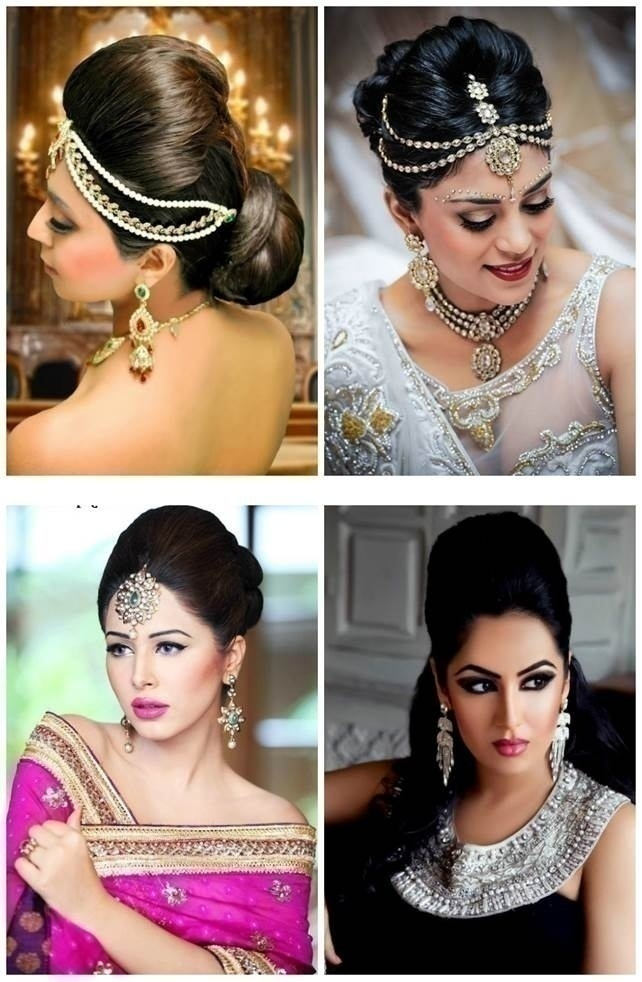 Top 5 indian bridal hairstyles for thin hair blog wedding hairstyle bouffant puff junglespirit Image collections