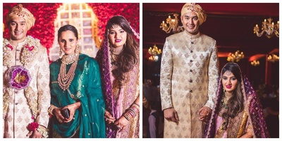 Sania Mirza's Sister Anam Mirza Ties the Knot with cricketer Asaduddin