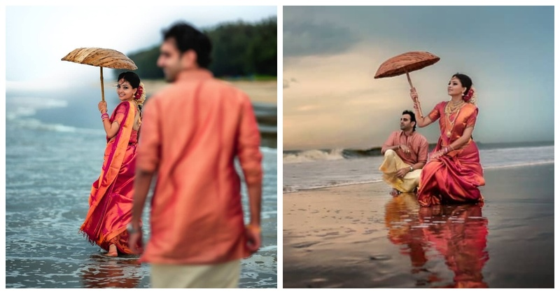 This Couple had a Dreamy Pre-wedding Photoshoot in Kerala