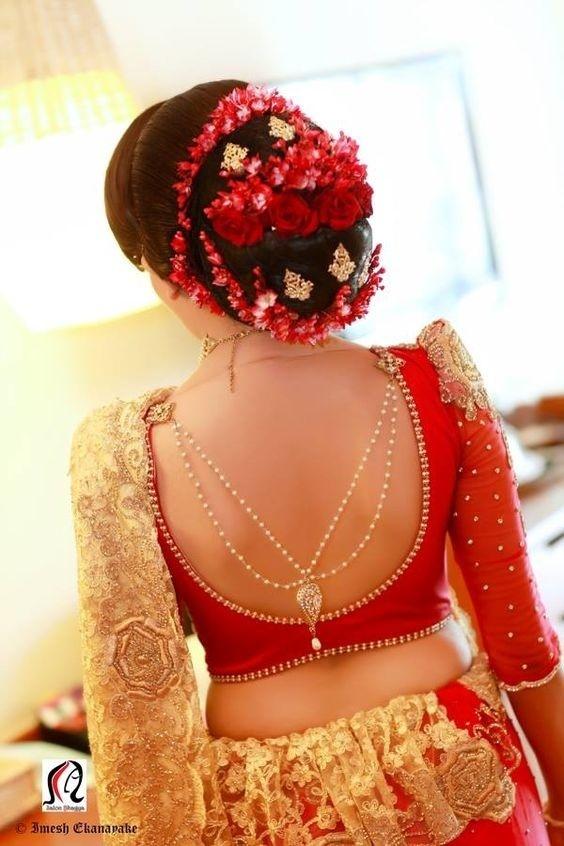 Marriage Blouse Backside Design: 40 wedding blouse designs 2018 to rock your bridal look! - Blogrh:weddingz.in,Design