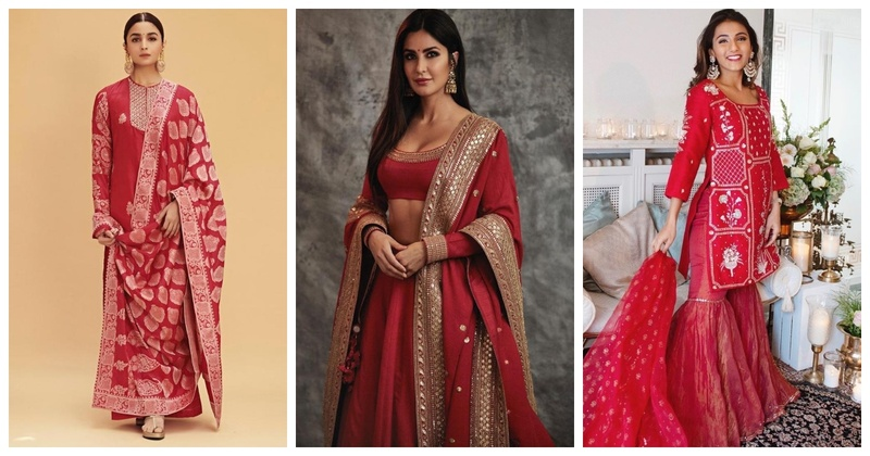 6 Red Outfits That Bridesmaids can Flaunt Without Upstaging the Bride