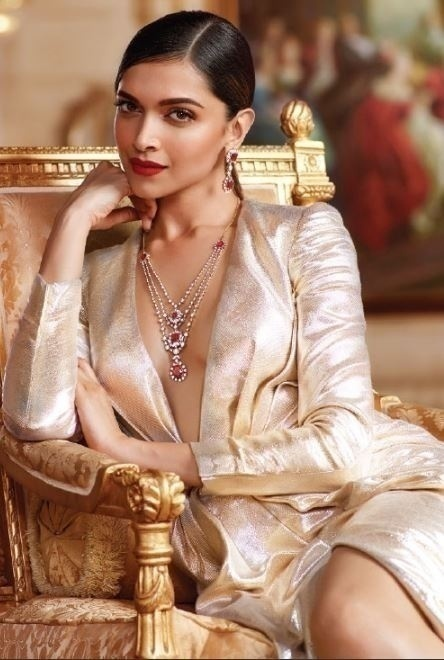 Bridal Jewellery Inspiration - Deepika Padukone for Tanishq
