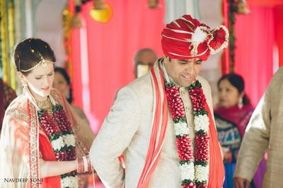 Royal destination wedding held at Chomu Palace, Jaipur