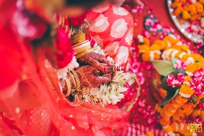 Bengali wedding rituals.