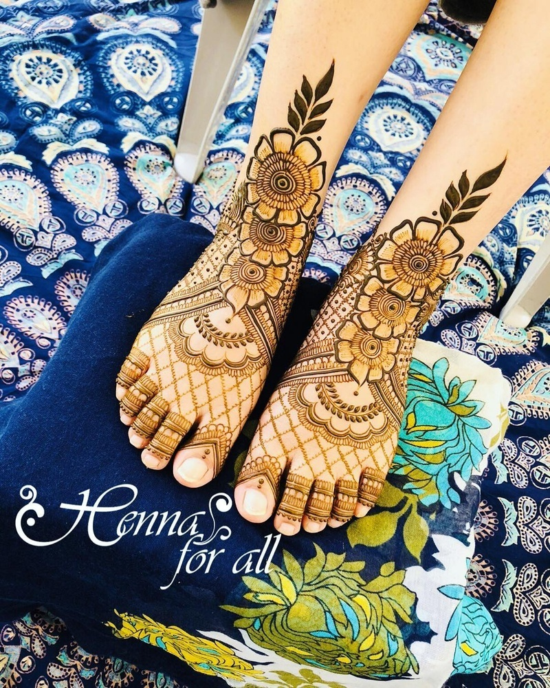 50 Leg Mehndi Design Images To Check Out Before Your Wedding Bridal Mehendi And Makeup Wedding Blog