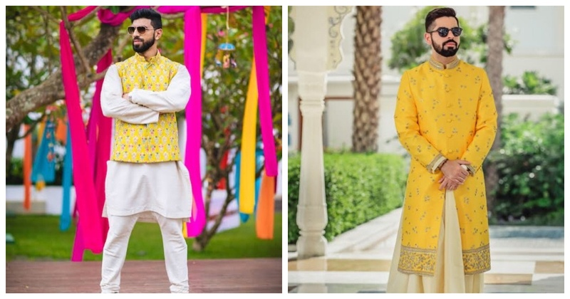 5 Grooms Who Looked Dapper in Yellow Outfits
