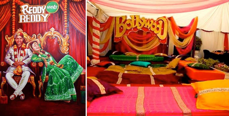 Love Bollywood? Here's how you can use it in your wedding decor