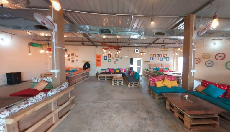 The Recycle Cafe Manesar Gurugram - Banquet Hall