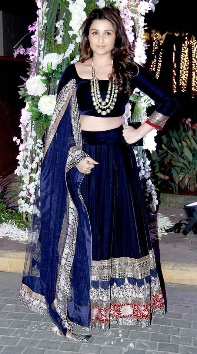 5947f35f29 Are Dark Toned Bridal Lehengas the Newest Trend in Wedding Wear? - Blog