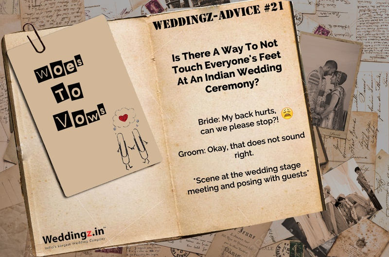 Do I Have To Touch Everyone's Feet at my Wedding? – Weddingz Advice #21