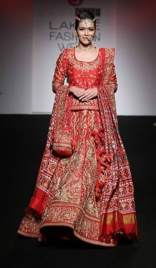 Inspirations from Saroj Jalan's New Bridal Wear Collection Launched at LFW
