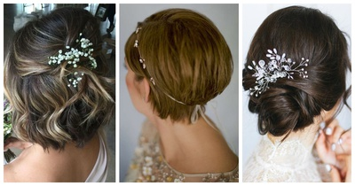 15 Haircut Options for Brides with Short Tresses!