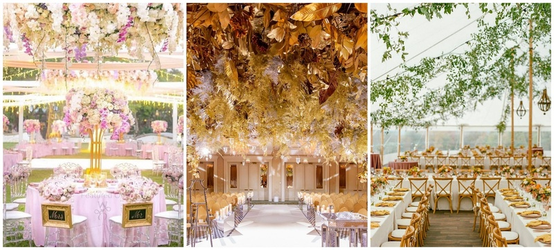 6 Decor Themes to Bookmark for your Fall 2020 Nuptials!