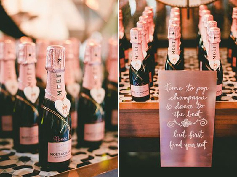 Alcoholic Wedding Favours: 10 Trends You May Have Missed