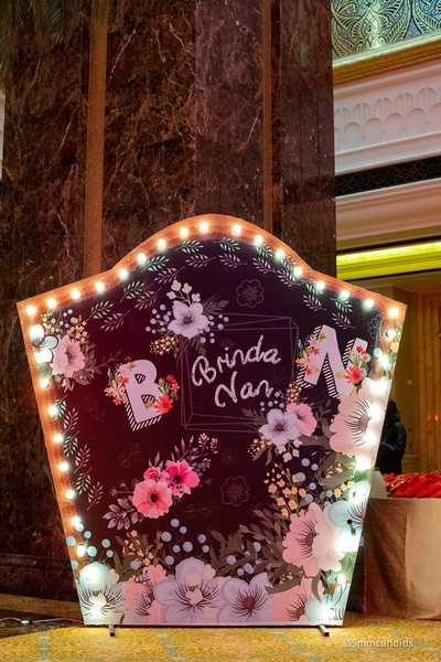 Entry Signage for Sangeet