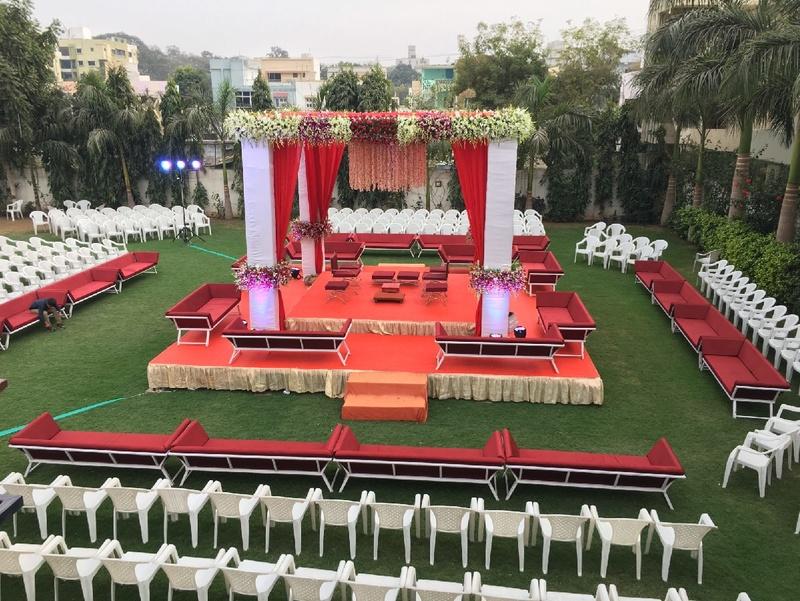 Opulent Open Lawn Marriage Halls in Coimbatore