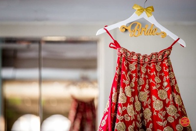 The bride's Sikh wedding lehenga