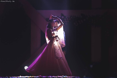 Couple dance performance for Sangeet Ceremony.
