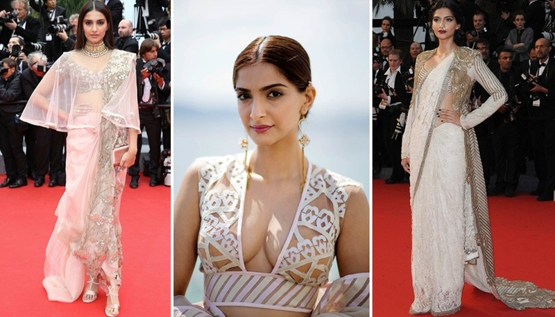 Unconventional Saree Styles We All Need To Learn From Sonam Kapoor.  #styleitlikesonam #thesonamsaree