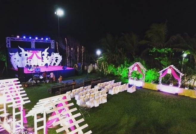 Hotel Vijoya International Chakra Tirtha Road Puri - Banquet Hall