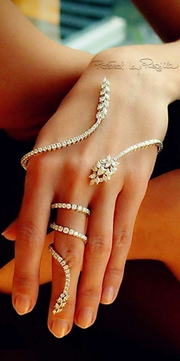 Palm Finger Rings Are the New Wrap around Bling