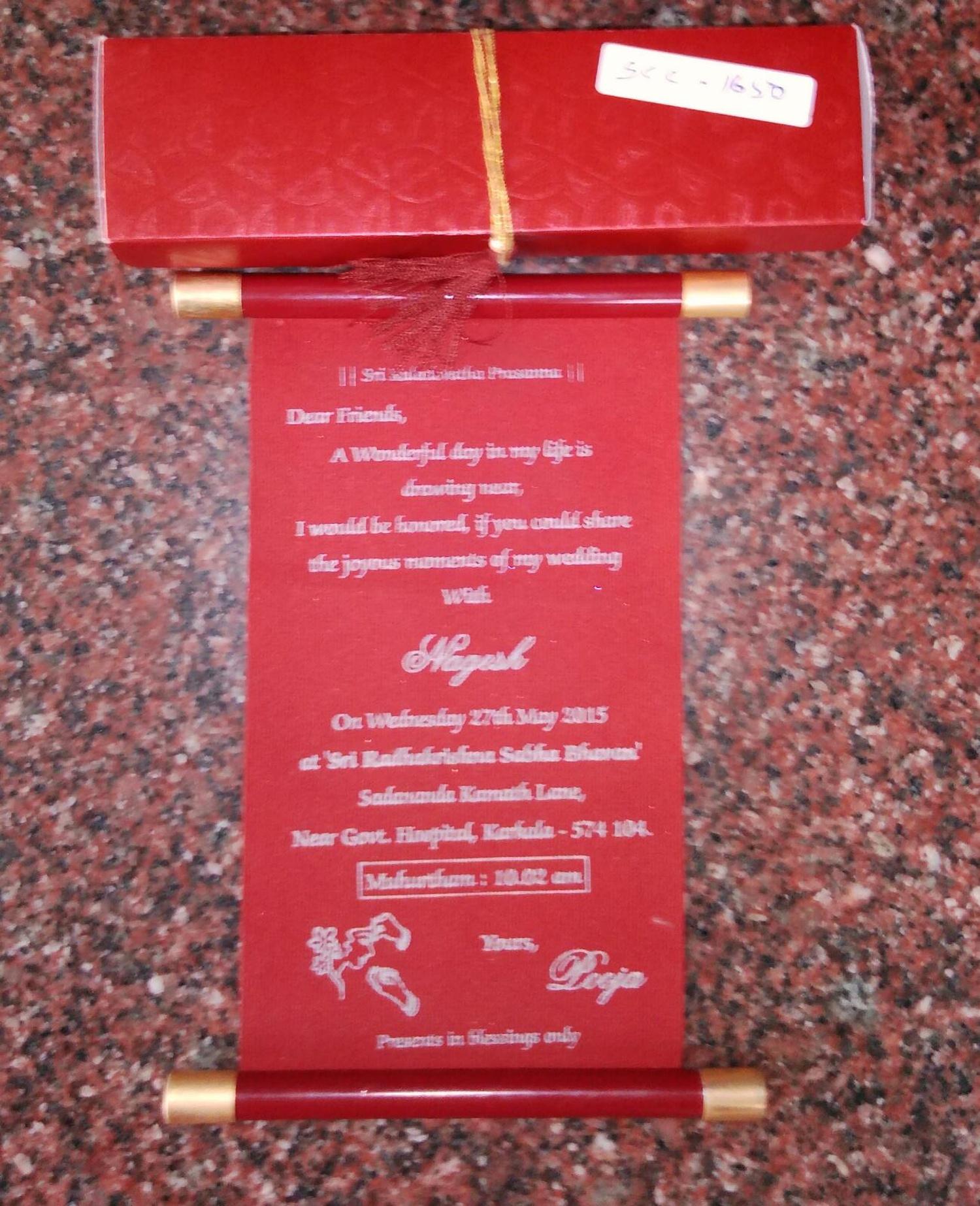 Sankeshwar Cards Creation, Wedding Invitation Card in Bangalore ...