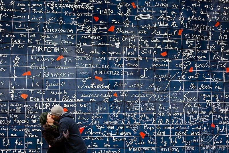9. The Wall of Love :
