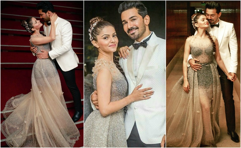 Rubina Dilaik and Abhinav Shukla held a grand reception in Mumbai and the pictures look right out of a fairytale!