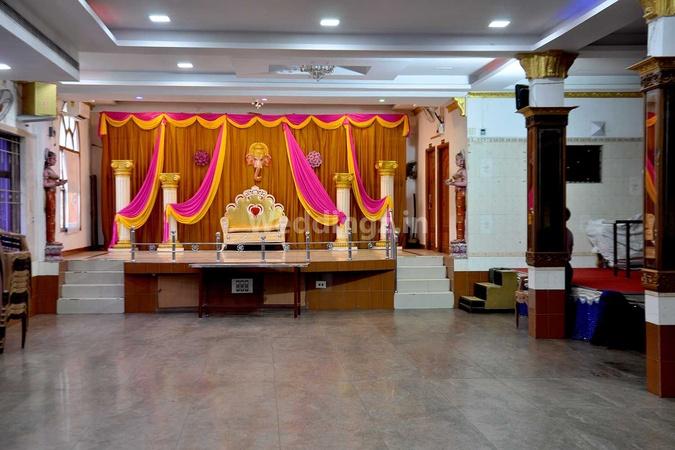Annai Sivakami Mahal Tiruvottiyur Chennai - Banquet Hall