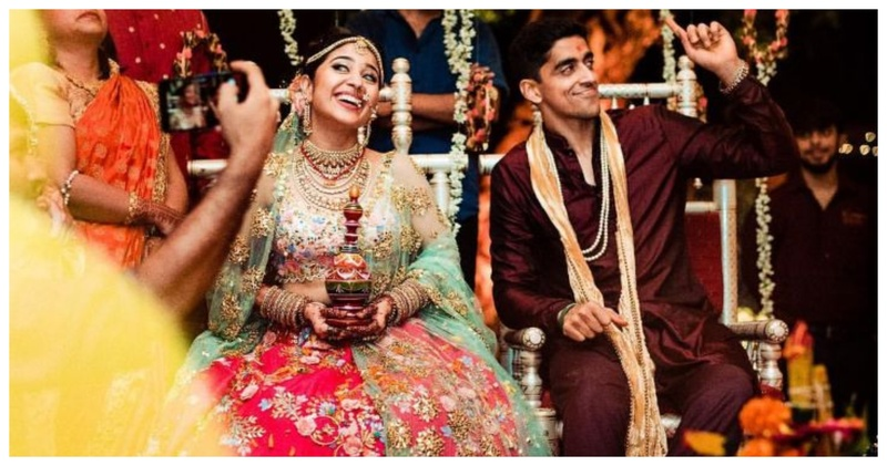 Shweta Tripathi and Chaitanya Sharma had the coolest and the quirkiest Monsoon Wedding in Goa!