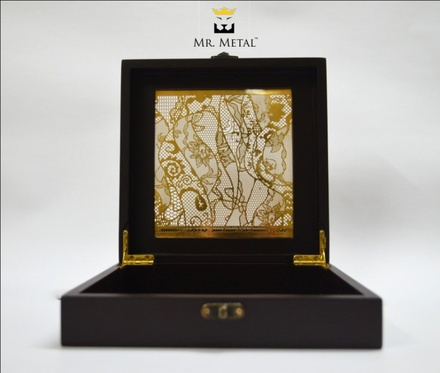 Exquisite Affaire Imperial Lace Wedding Box