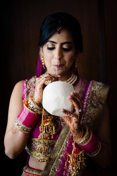 quirky bridal portrait ideas