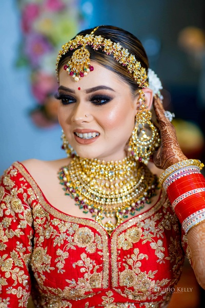 Her most famous bridal look!