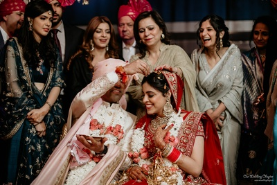 Happiness everywhere as Anant completes the wedding rituals
