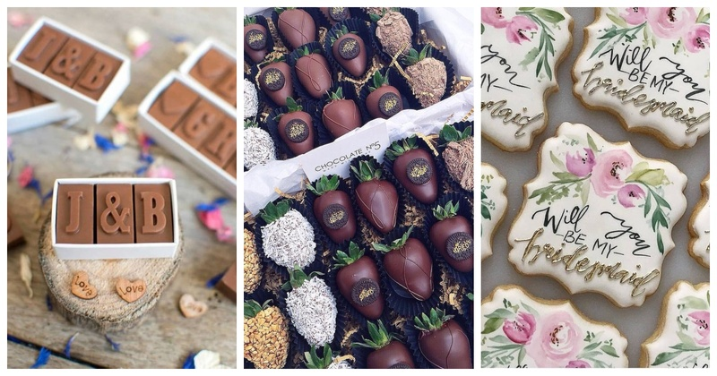 20 Irresistible Edible Wedding Favours which you must try!