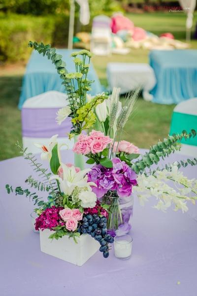 table decor ideas for the wedding ceremony