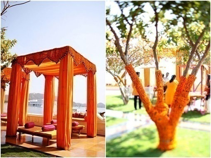 """Say """"I do"""" in a Picturesque Mandap Decked with Marigolds"""